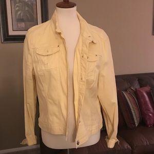 """Cotton """"Jean Style"""" Jacket"""